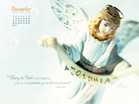 Dec 2012 - Angel - Wallpaper