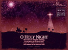 Dec 2012 - Holy Night - Wallpaper