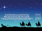 Dec 2012 - Wise Men - Wallpaper