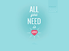 February 2014 - All You Need - Wallpaper