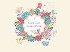 February 2014 - Love God - Wallpaper
