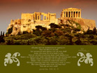 Greece - Psalm 39:4-7 - Wallpaper