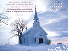 Jan 2013 - Church - Wallpaper