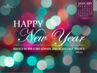 Jan 2013 - New Year - Wallpaper