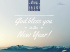 Jan 2014 - God Bless - Wallpaper