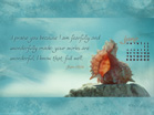 June 2012 - Psalm 139:14 - Wallpaper