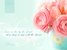 June 2013 - Galatians 5:25 NIV - Wallpaper