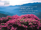 June 2013 - Psalm 43:3 NIV - Free Christian Wallpaper