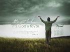 March 2013 - God's Favor