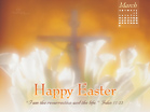 March 2013 - John 11:25 - Wallpaper