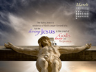March 2013 - Living Jesus - Wallpaper