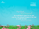 May 2012 - John 3:16 - Wallpaper