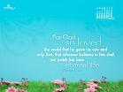 May 2012 - John 3:16
