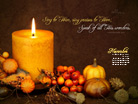 Nov 2012 - Sing Praise - Wallpaper