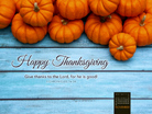 November 2014 - Happy Thanksgiving