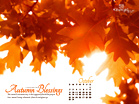 October 2011 - Autumn Blessings
