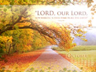 October 2011 - Psalm 8:9 - Wallpaper