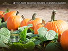 October 2014 - Doing Good