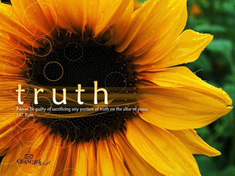 Free Truth Desktop Wallpaper - Download Quotes Desktop Backgrounds