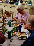 Regular Family Dinners Offer More than Food