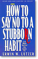 Say NO to a stubborn habit