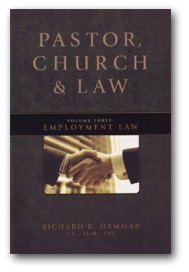 Pastor, Church & Law: Employment Law