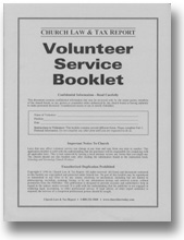 Volunteer Service Booklet