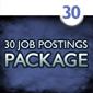 30 Job Postings (1 month each)