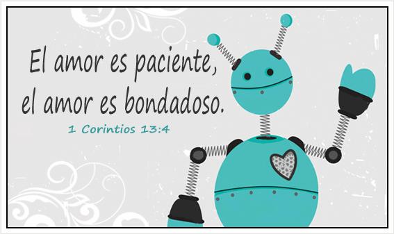 El amor es paciente, el amor es bondadoso
