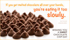 Chocolate Chip Day (8/4) - Ecard