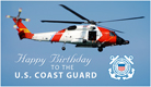 Coast Guard Birthday (8/4) - Ecard