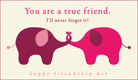 Friendship Day (8/7) - Free Ecards, Christian