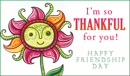 Friendship Day (8/7) - Ecard