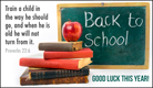 Back to School - Ecard