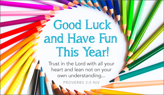 Good Luck This Year - Ecard