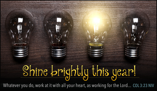 Shine Brightly This Year - Wallpaper
