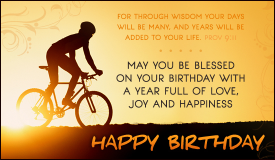 Birthday Blessings - Ecard