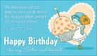 Birthday - Sister