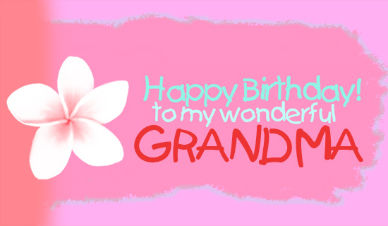 Happy birthday grandma quotes quotesgram for Birthday gifts for grandma from granddaughter