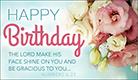 Happy Birthday - Numbers 6:25