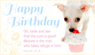 Taste and See Birthday - Ecard