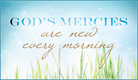 God's Mercies - Ecard