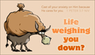 Weighed Down - Ecard