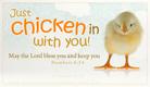 Chicken In - Ecard