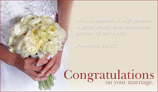 Marriage Congratulations - Wedding Ecards & Online Greeting Cards