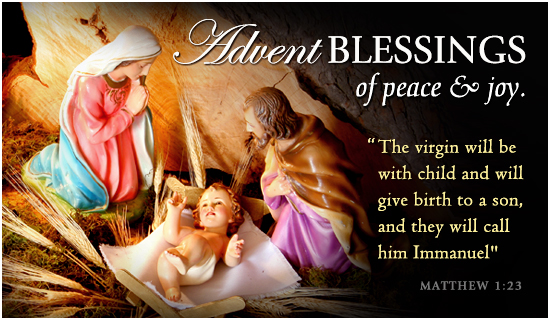 Free Advent Blessings ECard
