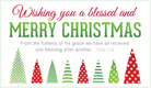 Blessed and Merry - Ecard