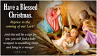 Blessed Christmas - Ecard