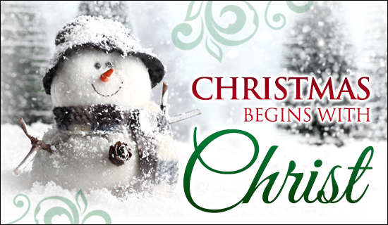 Christmas christ ecard send free personalized christmas cards online