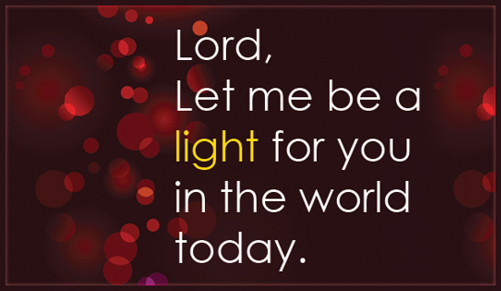 Light in the World - Ecard
